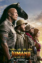 Jumanji: The Next Level 2D/3D  -  Showing January 4, 5 & 6th
