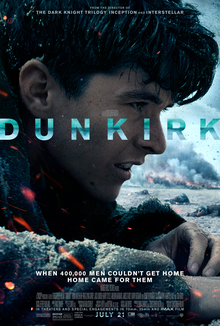 DUNKIRK - Showing August 25, 26 and 27th @ 7:00 PM