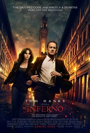 Inferno  - Showing November 18,19,20 in 2D @ 7:00PM MDT
