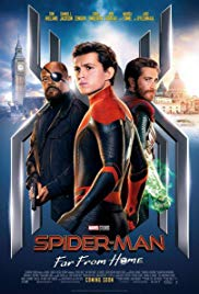 Spider-Man: Far from Home 2D/3D - Showing July 27, 28 & 29th