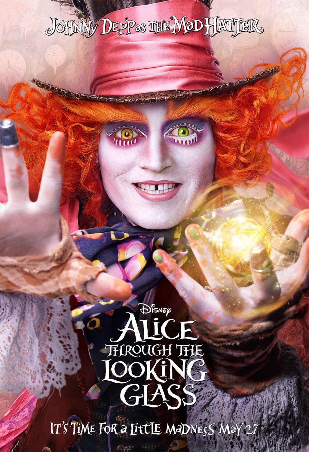 Alice Through The Looking Glass 2D/3D - Showing June 18, 19, 20 @ 7:00 PM MDT